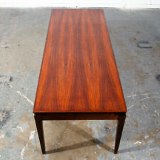 Mid Century Danish Modern Coffee Table Rosewood Extension Johannes Andersen Mcm