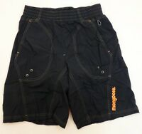Mongoose Loose Fit Baggy BMX Bicycle Shorts SMALL Black Padded Mountain Bike