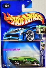 Hot Wheels 2003 Spectraflame Ii Side Draft #108 Green Factory Sealed