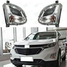 Front Fog Lamp Front Bumper Light W/Bulbs Fit For Chevrolet Equinox 17-19 FJ5/10