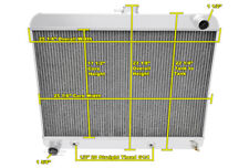 3 Row SZ Champion Radiator for 1963 - 1965 Buick Riviera V8 Engine