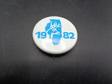 VINTAGE 1982 Illinois Deer Harvest Pin (sa1)