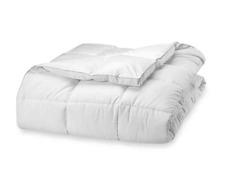 Claritin Ultimate Allergen Embossed Stripe Full Queen Comforter 90 x 98 in