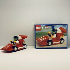 LEGO Classic Town 1991 Red Devil Racer 6509  Complete w/ Box+Part of Instruction