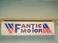 FANTIC MOTOR Banner OFF ROAD MOTO Workshop Garage 50cc 125 200 CABALLERO