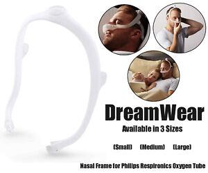 Respironics DreamWear Nasal CPAP Mask Frame Headgear Aid Sleeping Philips 3 Size