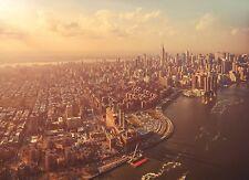 "Komar 4-987 254 x 184 cm ""New York City Manhattan Cityscape Scenic"" Wallpaper -"