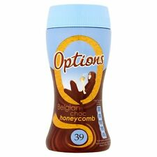 Options Instant Belgian Chocolate Honeycomb 220g - Sold Worldwide from UK