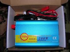 Doxin 12 volt 200 watt 110V 60Hz power inverter converter pure sine with USB