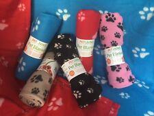Large Pet Blanket Soft Cosy Blue, Red,Black,Pink