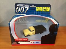 2002 Corgi James Bond 007 From Russia With Love - Chevrolet Truck  MIB