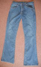 Nouveau vintage 28 x 32 Levi 525 Bleu Bootcut Bouton Et Fermeture Éclair Jeans Pantalon