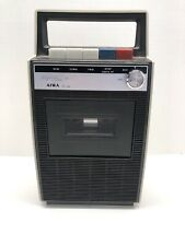 Vintage Aiwa Tp-728 Cassette Tape Recorder Untested For Parts/Repair