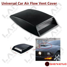 Universal Car SUV Decorative Air Flow Intake Scoop Bonnet Vent Cover Hood Black
