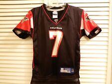 NWT! REEBOK Jersey SZ M YOUTH Michael Vick #7 Atlanta Falcons NFL Black