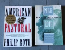 PHILIP ROTH AMERICAN PASTORAL & MY LIFE AS A MAN 2 paperbacks for the price on 1
