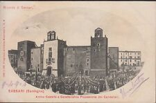 Sassari, Antico Castello e Processione dei Candelieri, viaggiata.