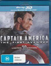 Captain America - The First Avenger - Blu-Ray (3D Region B)