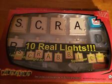 New Vintage Scrabble Summer Fun Party Light Set Rare  with 10 Lights & 27 Letter