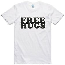Free Hugs Mens Funny T Shirt Novelty Gift Joke Regular Fit 100% Cotton Tee