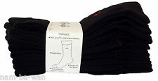 8 pairs of Pringle Men Trouser Cotton Rich Socks Black UK 7 8 9 10 11 EUR 40-46