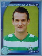 Panini 211 Jan Vennegoor of Hesselink Celtic FC UEFA CL 2008/09