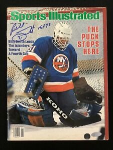 Billy Smith Signed Sports Illustrated 5/29/83 No Label Islanders Auto Steiner