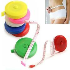 150CM Mini Retractable Tape Measure Sewing Tailor Dieting Tapeline Ruler JJ