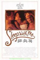 SLEEP WITH ME MOVIE POSTER Original SS 27x40 MEG TILLY - ERIC STOLTZ 1994 Film