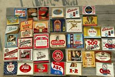 Collection United States Beer Bottle Labels-38 different Original 1930-1980