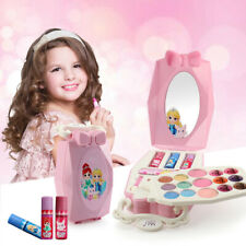 Children Cosmetic Gift Princess Makeup Box Girl Makeup Eyeshadow Lip Gloss Kit ~