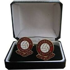 ROTHERHAM UNITED (the millers) FOOTBALL CLUB CUFFLINKS