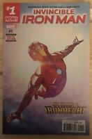 Invincible Iron Man #1 1st Appearance of Ironheart RiRi Marvel Comic Book NM