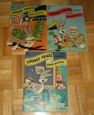 LOONEY TUNES & MERRIE MELODIES #94, #105 & #109 DELL COMICS 1949 BUGS BUNNY