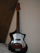ELECTRIC GUITAR MADE IN JAPAN TIESCO? OLD HEAVY WORN AND READY TO USE LOOK HERE>