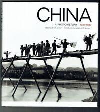 China: Book - A Photohistory 1937-1987  (Hardback)