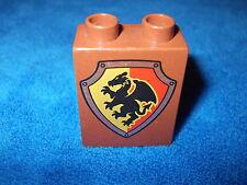 LEGO DUPLO RITTERBURG aus 4777 + 4785 + 4779 WAPPEN HOHER STEIN WAPPENSTEIN WOW