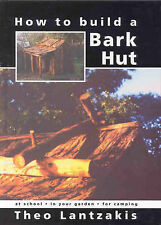 How to Build a Bark Hut TheoLantzakis New instock bush shelters diy survival hb
