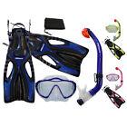 PROMATE Junior Snorkeling Scuba Diving Mask DRY Snorkel Fins Gear Set for KIDS
