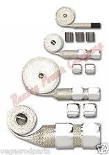 Staineless steel hose sleeving kit braided hose covering radiator heater fuel va
