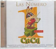 Las Numero 1 De Cri Cri CD NEW Edicion Limitada CD + DVD Grandes Exitos