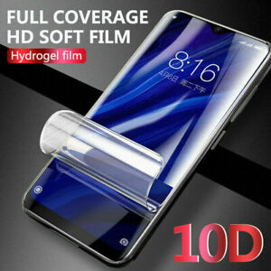 For Huawei P30 P40 Pro Smart TPU Hydrogel FILM Screen Protector NEW