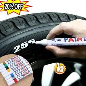 Waterproof Permanent Paint Marker Pen Ink Car Tyre Tire Tread Rubber Metal  New
