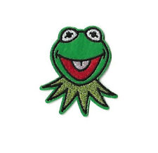 Kermit - Frog - Puppet - Educational - Embroidered Iron On Patch