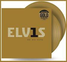 "Elvis Presley ""30 # 1 hits"" limited gold coloured Vinyl 2LP NEU Best of Album"