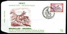 (B) 1413 FDC 1967 - Dag van de postzegel.