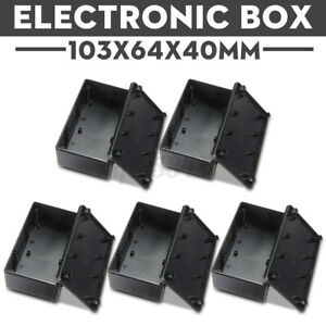 5XWaterproof Cover Project Electronic Instrument Enclosure Box Screw  US