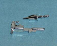 original G1 Transformers dinobot SLAG GUN + MISSILE LOT weapons parts