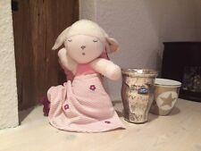 """Steiff Spieluhr Traumspieluhr """"Lamm Lenchen"""" Schlaflämmchen *Größe 28 cm* rosa"""