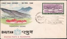 BHUTAN, 1968. First Day Cover 77